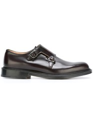 Church's 'Lambourn' Monk Shoes Red