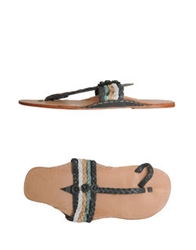 Local Apparel Thong Sandals Lead