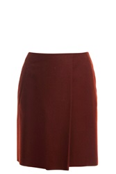 Acne Studios Wool Wrap Skirt Red