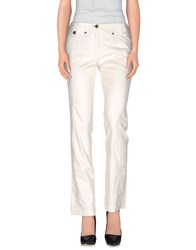 Marc Cain Trousers Casual Trousers Women Ivory