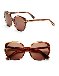 House Of Harlow Donnie 56Mm Round Sunglasses Red