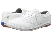 Keds Craze T Toe White Stretch Twill Women's Lace Up Casual Shoes
