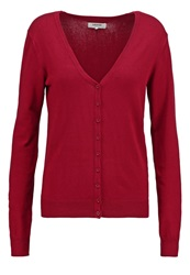 Zalando Essentials Cardigan Dark Red