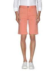 Fred Mello Trousers Bermuda Shorts Men Salmon Pink
