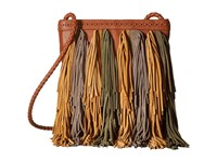 Sam Edelman Jane Crossbody Cognac Multi Cross Body Handbags Tan
