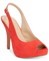 Thalia Sodi Camilla Slingback Pumps Only At Macy's Women's Shoes Hibiscus
