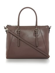 Coccinelle Mel Taupe Tote Crossbody Bag Taupe