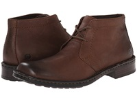 Born Harrison Chestnut Dark Brown Leather Men's Lace Up Boots