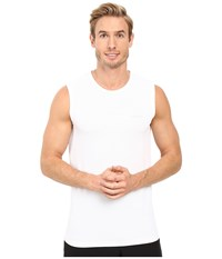 Columbia Performance Mesh Muscle T Shirt White Men's Sleeveless
