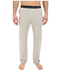 Calvin Klein Underwear Iron Strength Cotton Pants Heather Grey Men's Pajama Gray