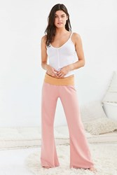 Out From Under Beach Fleece Pant Pink