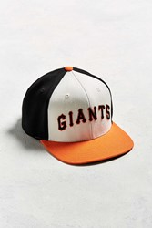 American Needle Big Show San Francisco Giants Baseball Hat Red Multi
