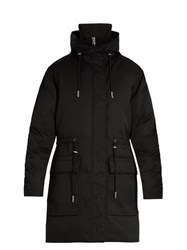 Acne Studios Alston Hooded Down Parka Black