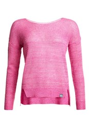 Superdry Arlo Twist Slouch Sweater Pink