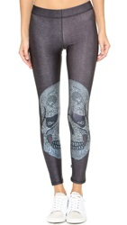 Zara Terez Crystal Skull Performance Leggings