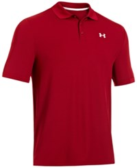 Under Armour 2.0 Performance Golf Polo Crimson
