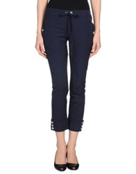 Vdp Club Casual Pants Dark Blue