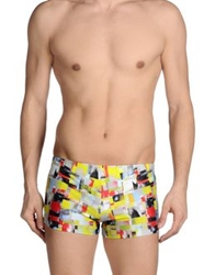 Basso And Brooke Swimming Trunks Yellow