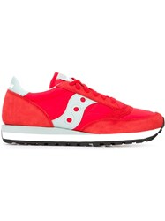 Saucony Panelled Sneakers Red