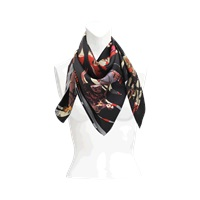 Christian Lacroix Hide And Seek Silk Scarf 90X90