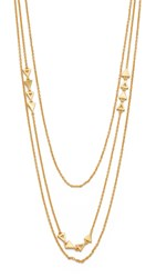 Gorjana Diy Mika Chain 3 Layer Set Necklace Gold