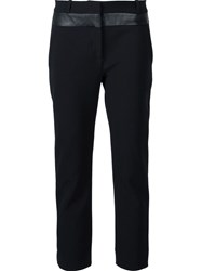 Dion Lee 'Inverted Compact' Trousers Black