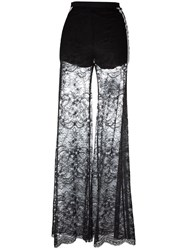 Aviu Flared Trousers Black