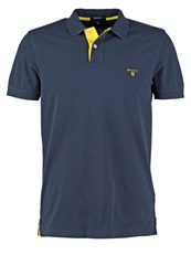 Gant Polo Shirt Navy Dark Blue