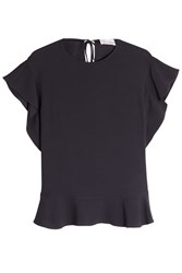 Red Valentino R.E.D. Top With Self Tie Detail Black