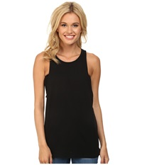 Hurley Solid Riot Biker Tank Black Women's Sleeveless