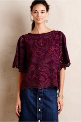 Kas Picado Blouse Plum