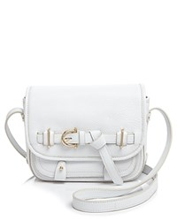Etienne Aigner Filly Stag Pebble Saddle Bag Optic White
