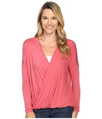 Prana Cascade Top Red Slate Women's Clothing