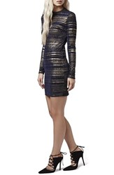 Women's Topshop Metallic Body Con Dress