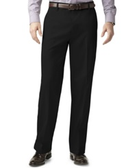 Dockers Big And Tall D3 Classic Fit Iron Free Flat Front Pants Black