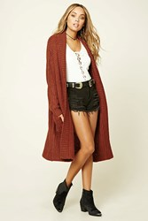 Forever 21 Longline Sweater Cardigan