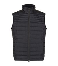 Hugo Boss Green Veon Lightweight Down Gilet Male Black