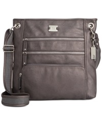 Style And Co. Nina Crossbody Pewter