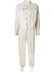 Sonia Rykiel Military Shirt Jumpsuit