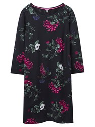 Joules Ambion Printed Dress Black Hedgerow