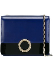 Bulgari Chain Strap Crossbody Bag Blue