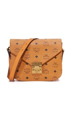 Mcm Patricia Saddle Bag Cognac