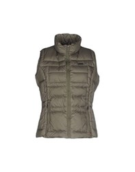 Napapijri Coats And Jackets Down Jackets Women Military Green
