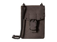 Rebecca Minkoff Biker Phone Crossbody New Grey Cross Body Handbags Gray