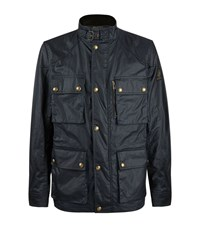 Belstaff Trialmaster Drawstring Jacket Male Navy