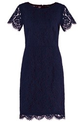 Esprit Collection Summer Dress Navy Dark Blue