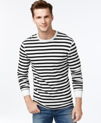 Levi's Agung Striped Thermal Bright White