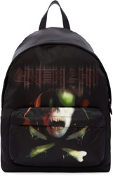 Givenchy Black Skull Backpack