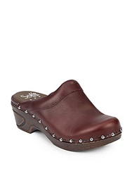Sofft Bellrose Leather Clogs