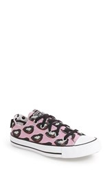 Converse Women's Chuck Taylor All Star 'Warhol Ox' Sneaker White Black Multi Pink
